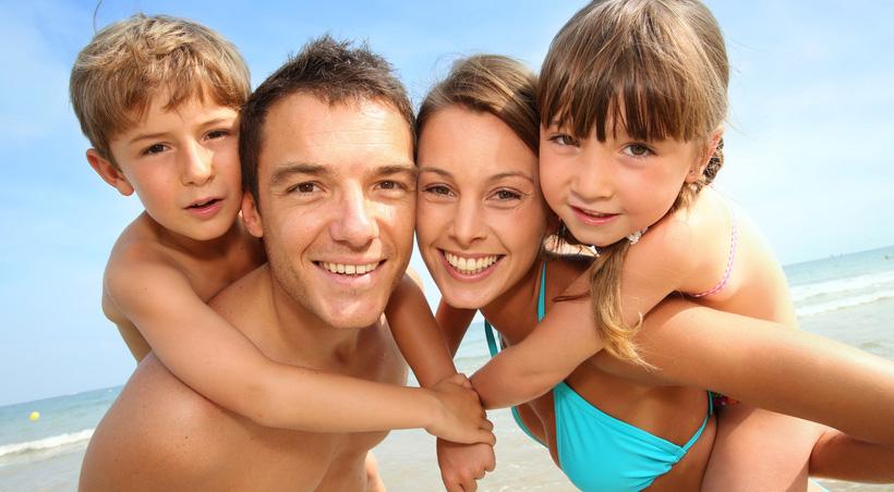 familie-strand